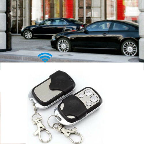 Rolling Wireless Code Garage Door Copy Cloning 4 Channel Remote Control Key Fob