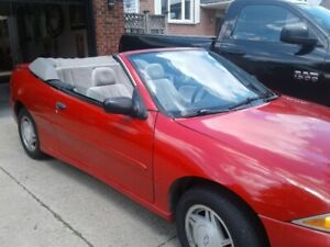 For Sale Beautiful Red 1997 Cavalier Convertible
