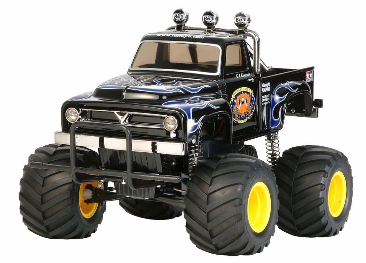 TAMIYA 58547 negro Midnight Pumpkin KIT RC Auto Kit (senza ESC)