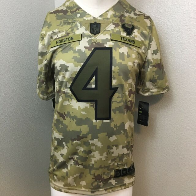 salute to service texans jersey