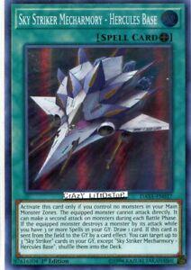 Hercules Base DASA-EN037 Super Rare 1st Ed 1X NM Sky Striker Mecharmory