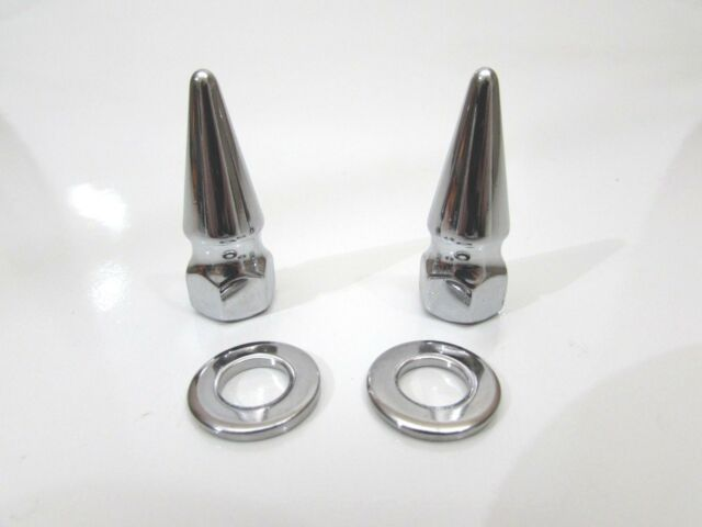Schwinn Stingray Chopper Occ 20 Chrome Spiked Axle Nuts Bicycle Part For Sale Online Ebay