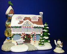 Hawthorne Rudolph's Christmas Town Village Santa's Toy Workshop Frostie Snowman