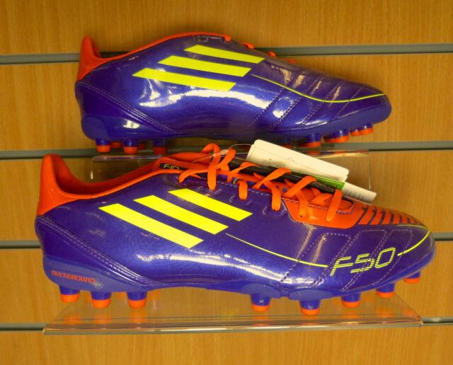 Adidas F10 Multiground adults Football Boots - Purple/Red