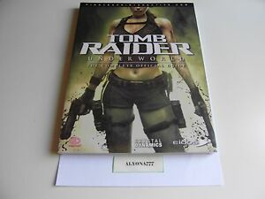 Tomb Raider Underworld Guide Book For Ps3 Xbox 360 Brand New
