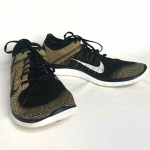 Tailandia Nike Free 4.0 Flyknit Negro Ofertas Running