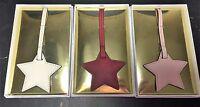 Michael Kors Monogram Medium Star Saffiano Leather Purse Charm Great Gifts