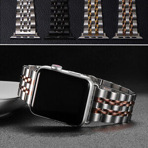 Stainless Steel Iwatch Band Strap For Apple Watch Series 5 4 3 2 1 38 40 42 44mm Ebay