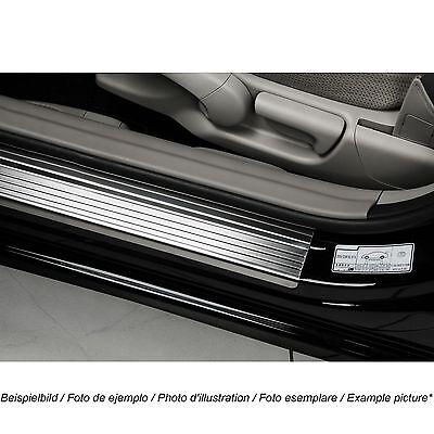 Einstiegsleisten Schutzleisten passend für Mazda 2 II 2008-14 Edelstahl Chrom
