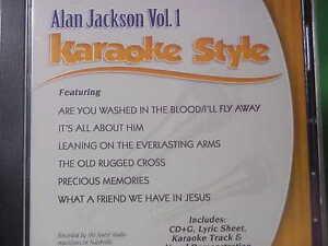 Image Is Loading Alan Jackson 1 Daywind Karaoke Style The