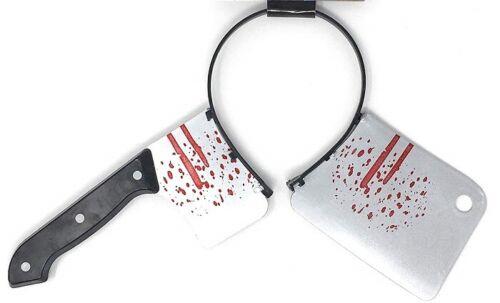 Through Head Headband Weapon Through Head