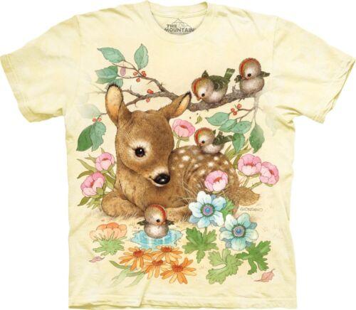 The Mountain Unisex Child Baby Doe Animals T Shirt