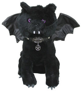 Bat Cat Winged Collectable Soft Plush Toy 12 Inch Cute Vampire