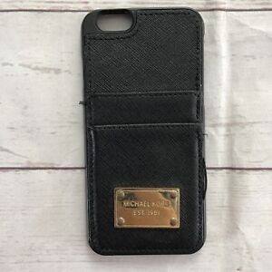 the latest 01e02 5f133 Details about Michael Kors EST. 1981 Black Iphone 6 Card Holder Phone Case