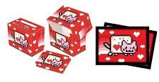Ultra Pro Nyan Cat Valentine Standard Deck Box & Sleeves 100ct.