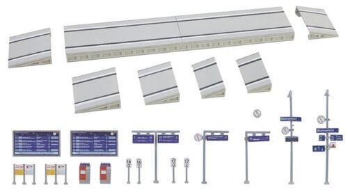 moderne Quai avec accessoires kit Faller 222111 Piste N époque V NEUF