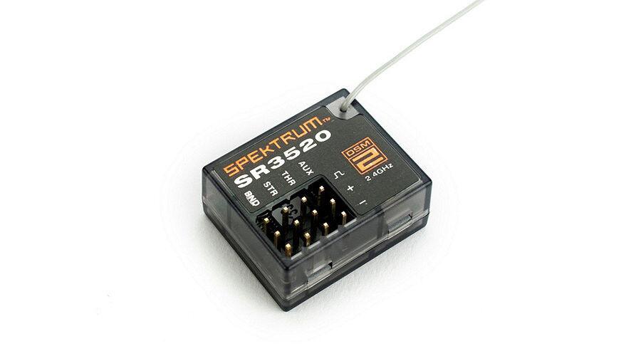 Spektrum DSM2 3-channel surface receiver NIB SPMSR3520