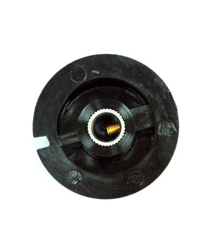 PN-38A 500pc Plastic Round Screw type Knob PN-8C Size=φ34.8x18mm Hole=φ6.4mm
