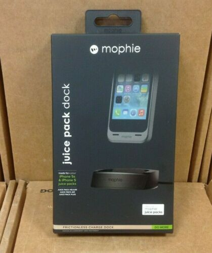 Black Mophie Juice Pack Charge Dock for iPhone 5//5s//SE