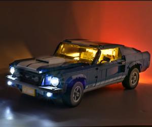 LED Licht Beleuchtungs Set Für LEGO Creator 10265 Für Ford Mustang USB Light ♡