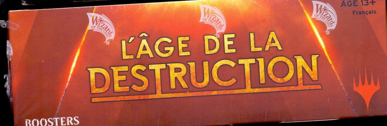 MTG MAGIC  1 BOITE    DE 36 BOOSTERS L'AGE DE LA DESTRUCTION VF e032a4
