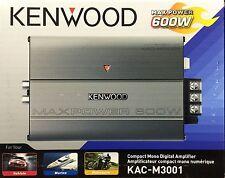 NEW Kenwood KAC-M3001 Compact Mono Subwoofer Amplifier KACM3001