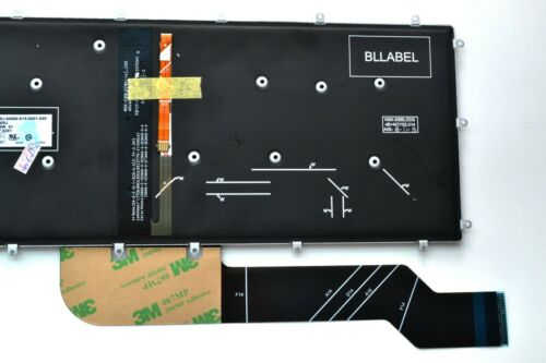 New US Backlight Backlit Keyboard For Dell Inspiron 13 5368 5378 7368 7378