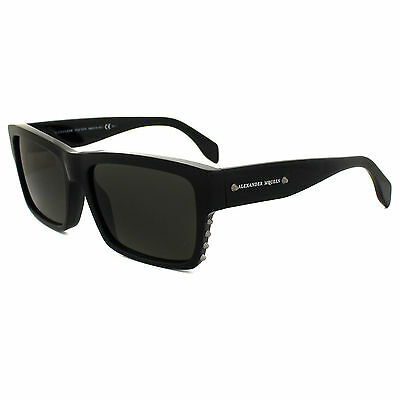 Alexander McQueen Sunglasses 4258/S 807 NR Black Brown Grey
