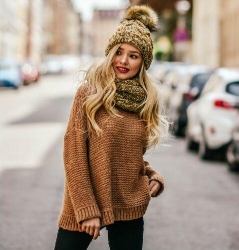 Set Scarf Or Hat Women Winter Alpaca Wool Knitted Beanie Hat Neck Fleece Pom Pom