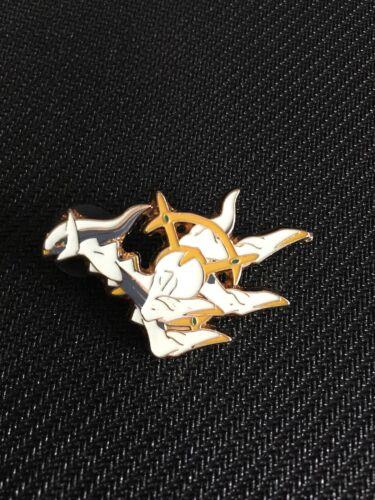 Pokemon Mythical Collection Arceus Promo Collector PIN NEW