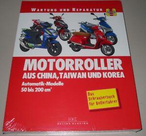 Automobilia Anleitungen & Handbücher Reparaturanleitung Motorroller Aus China Taiwan Korea Automatik Modelle 50-200 Eleganter Auftritt