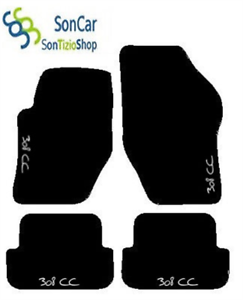 Alfombrillas para Astra H 2004/2010/Alfombras Coche con logo bordado y Solera
