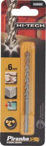 1 Pointe Argent Pour Granit Piranha X58000 Avec Bonde Cylindrique ø 6 Mm Hi-tech Hoasyb0e-07211900-334876443