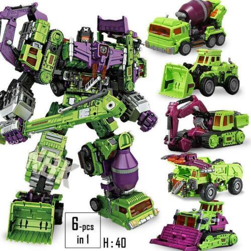 NBK TF Engineering Devastator GT 6in1 Transformers Autobot Robot Oversize Figure