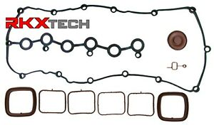 RKX 3.6 L PCV Engine Valve Cover 2 Piece Intake manifold gasket set for VW