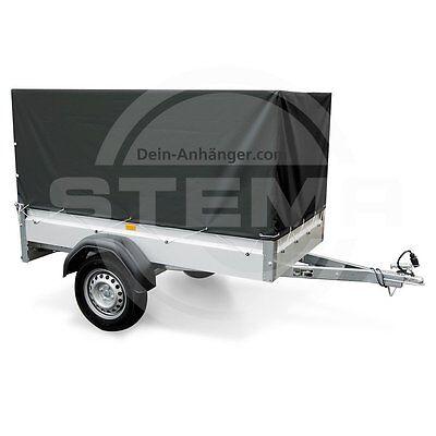 Spriegel Hochplane für STEMA Anhänger PKW F 750 DBL 850 opti AN Anthrazit 0,80m