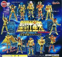 Gashapon Bandai HGIF Saint Seiya Gold Saint Myth Cloth SP Best Figure Set 12 pcs