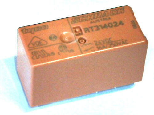 1 x cambiador rt314012 12 V//dc Schrack 16 a PCB RT-rendimiento sprint relés