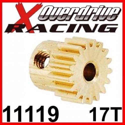 Modul:0,6 Welle:3,2 Himoto Amewi Amax Zähne Motorritzel Messing HSP 11119 17T