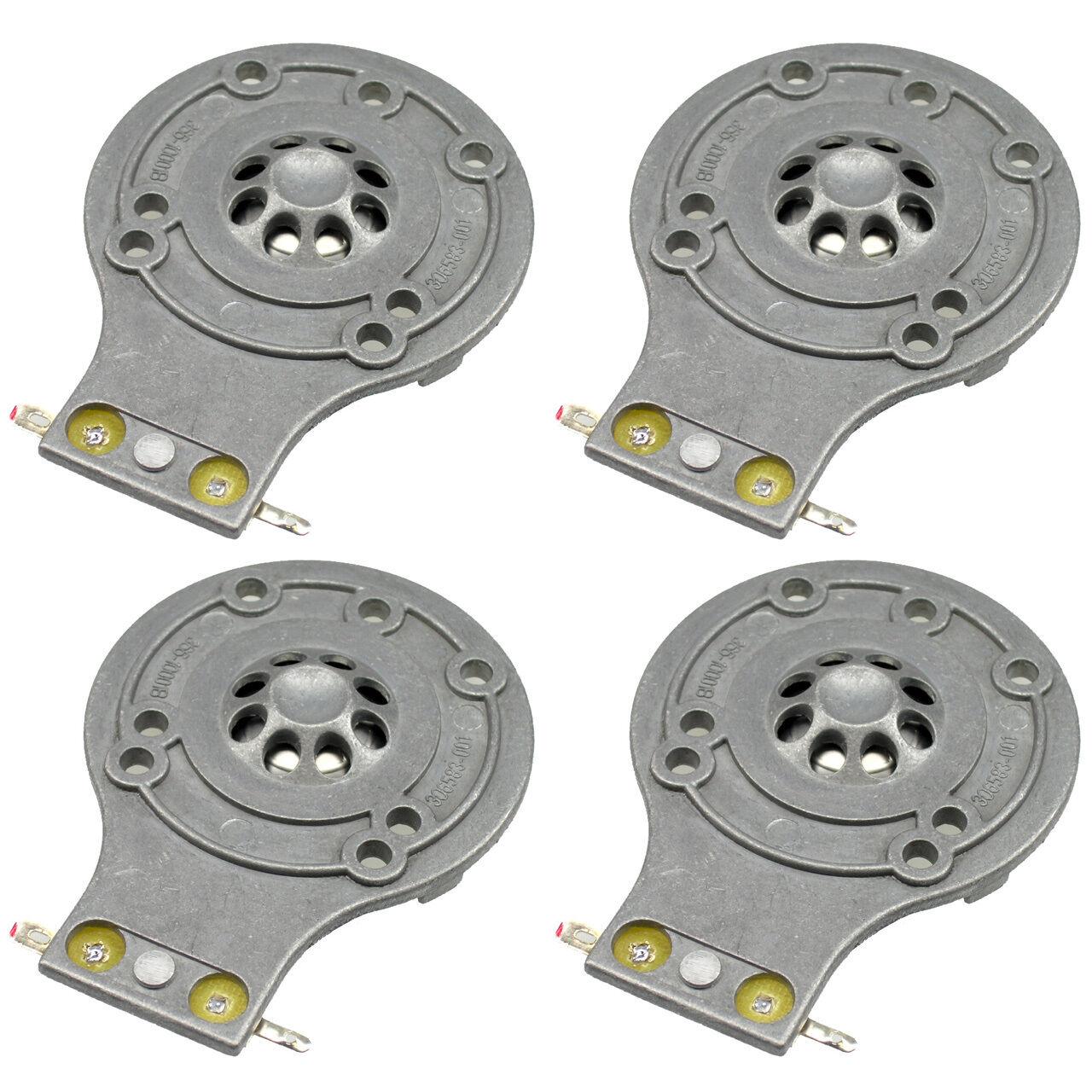 JBL Tr Serie Horn Diaphragma Alle Metall TR105 TR125 TR126 TR225 2412H1 4 Pack