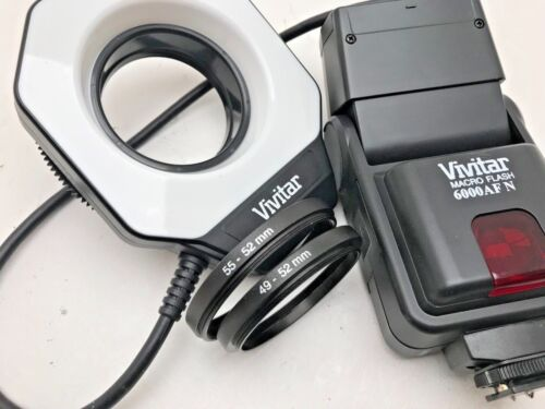 Vivitar Macro Flash 6000AF Flash para Nikon