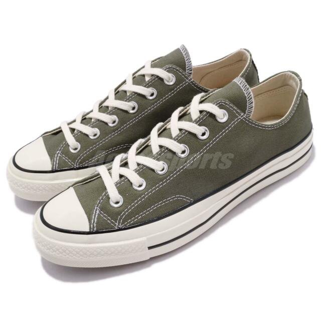 afb1536654b Converse First String Chuck Taylor All Star 70 OX Olive Men Women Shoes  162060C