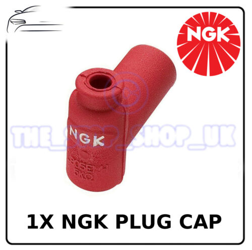 SPC1NA6 1x Genuine NGK Red Rubber Spark Plug Cap To Fit KTM SX65 2003-2008