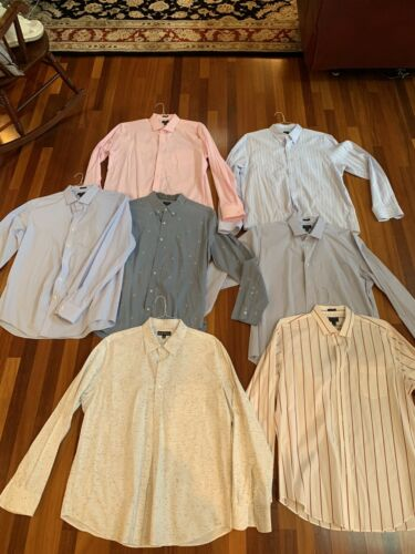 J.Crew Men's XL Dress Shirts Lot of 7