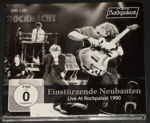 EINSTURZENDE-NEUBAUTEN-live-at-rockpalast-1990-GERMANY-DVD-CD-new-sealed