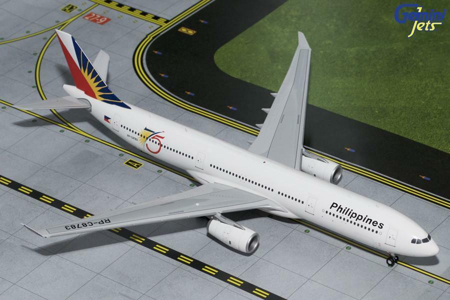 Philippine Airlines Airbus A330-300 RP-C8783 Gemini Jets G2PAL598 escala 2018