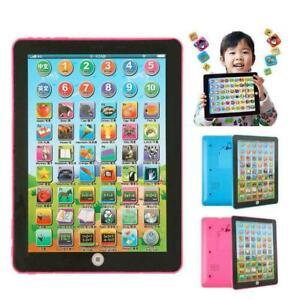 Baby Tablette jouets éducatifs enfants Pour 1-6 Ans Bébé Apprendre l'Anglais Cadeau