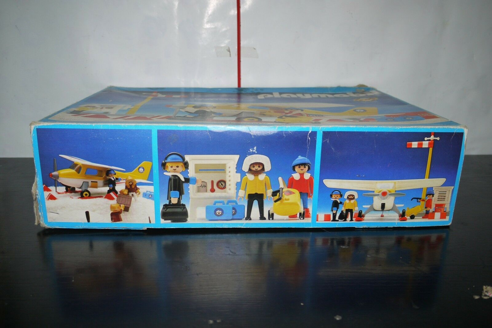 Playmobil GREEK LYRA ARCTIC EXPEDITION PLANE WEATHER STATION 3457 99 ...