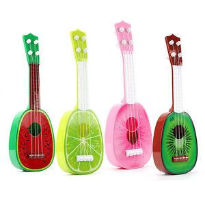 Kids-Fruit-Ukulele-Ukelele-4-Strings-Small-Guitar-Musical-Instrument-Funny-Toy