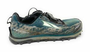 Altra-Footwear-Women-039-s-King-MT-Trail-Running-Shoe-Black-Teal-US-9-5-B-Used